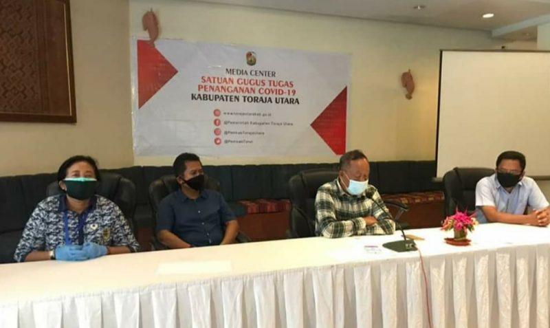 Toraja Utara umumkan kasus pertama positif covid-19