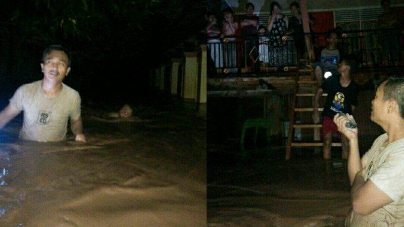 Banjir Landa Bantaeng, Jumat (12/6) malam