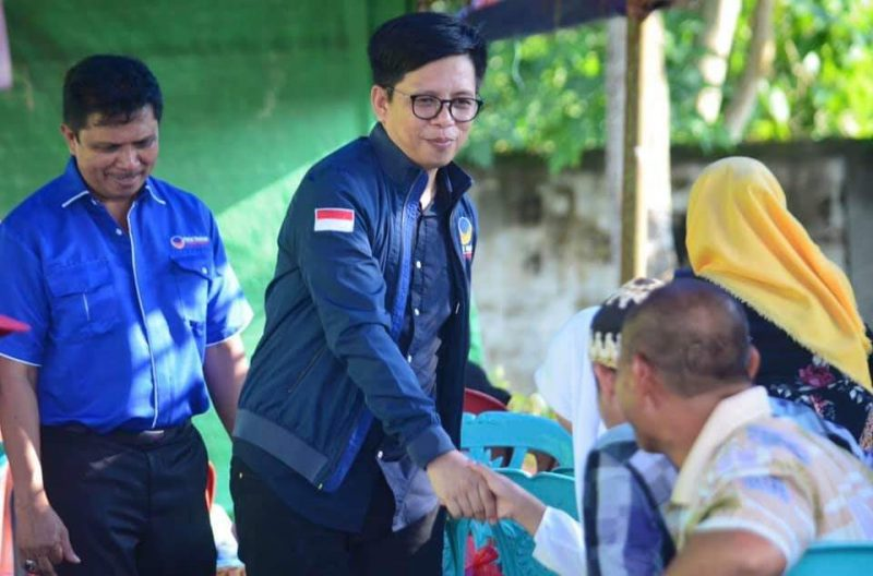 Tomy Satria Yulianto, Ketua DPD Partai Nasdem Bulukumba.