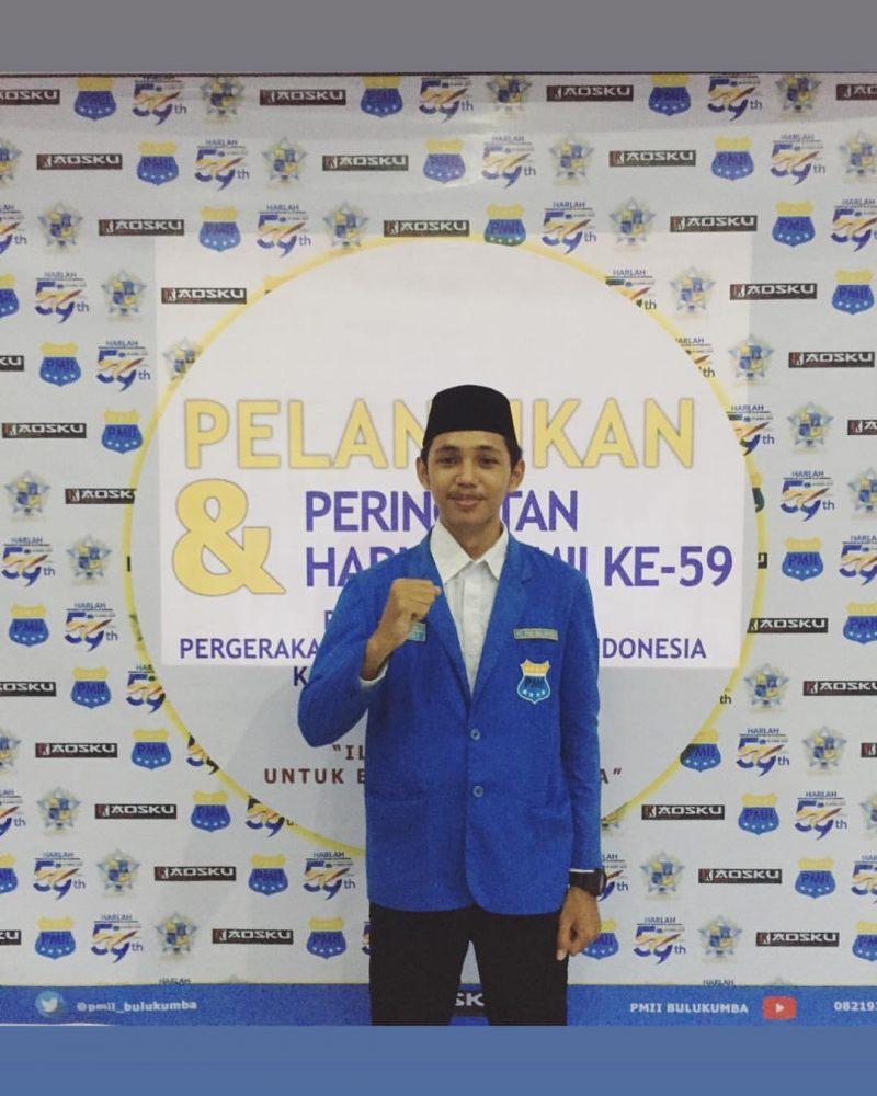 Ketua Cabang PMII Bulukumba, Andi Chaidir Alif | Foto: dok. Pribadi
