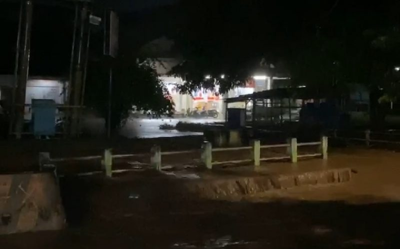 Kondisi terkini Ruas Jalan di kabupaten Bantaeng, Jumat (12/6/2020).