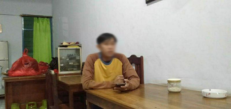 WW (27) adik WY (30) yang berstatus pasien OTG yang dikarantina.