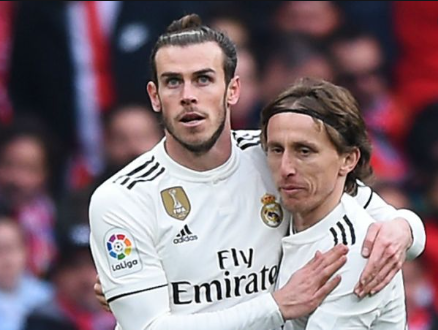 Luka Modric dan Bale (ist)