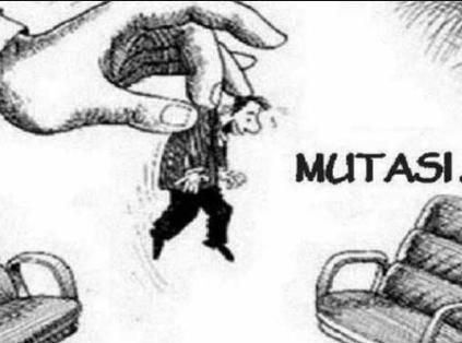 ilustrasi mutasi pejabat