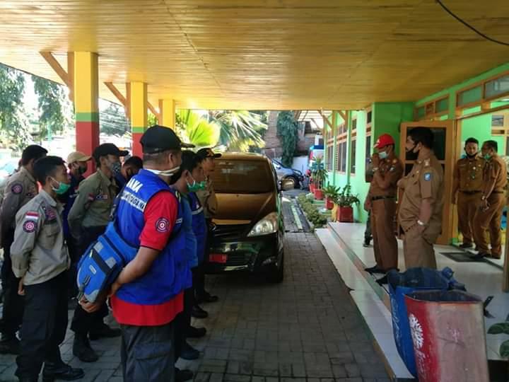 Apel Persiapan Tagana Dinsos Bulukumba Menuju kabupaten Bantaeng, Senin (15/6)