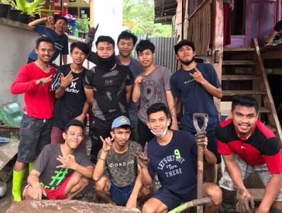 Relawan Ubur-ubur Kabupaten Bantaeng. (ist)