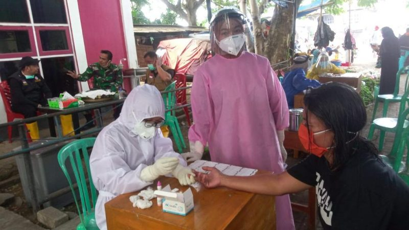 Rapid Test Massal Warga di Bantaeng [IST]