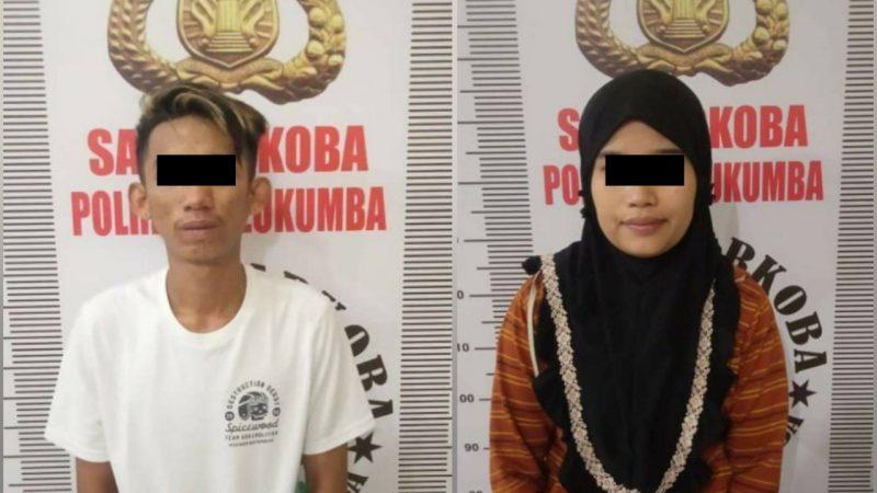 Pasangan Suami Istri di Bulukumba Ditangkap Polisi Karena Terlibat Kasus Narkoba. [IST]