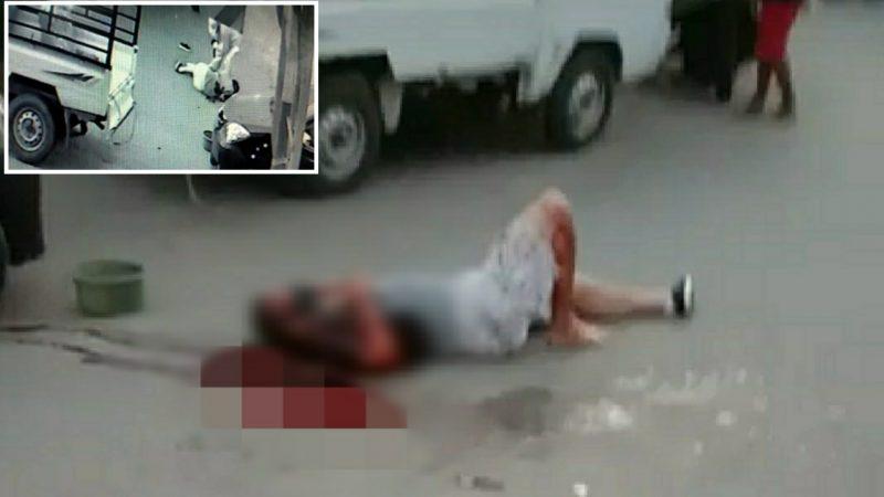 Tragedi Berdarah di Pasar Cekkeng Bulukumba, Kamis (16/7/2020) pagi.