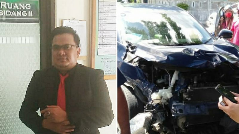 Capture: Kuasa Hukum Komunitas Truk Sulawesi, Muhammad Khairil.