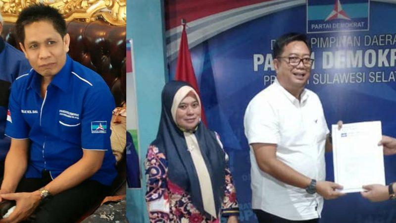 Ketua Bappilu DPD Partai Demokrat Sulsel, Salle KS Dalle dan Pasangan Bakal Calon Bupati/wakil Bupati Bulukumba AHP-AMM