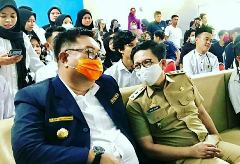 Andi Hamzah Pangki bersama Tomy Satria Yulianto