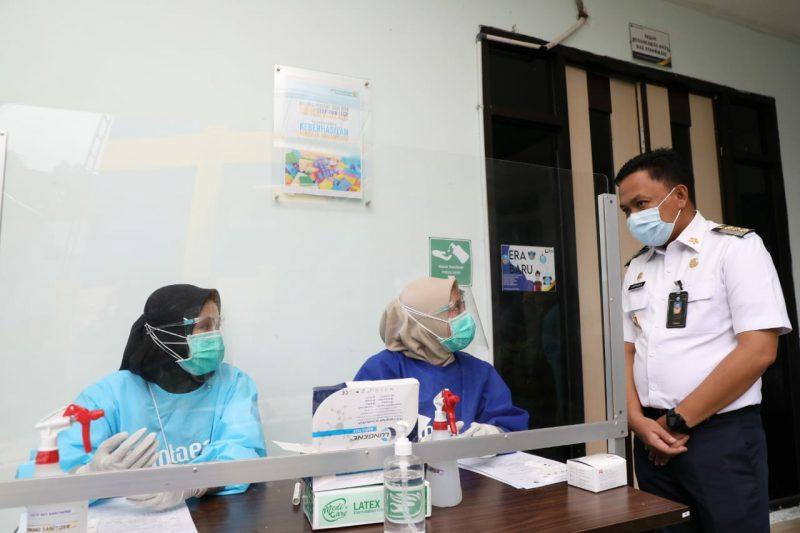 Bupati Bantaeng, Ilham Azikin melakukan sidak penerapan protokol, Rabu (22/7/2020).