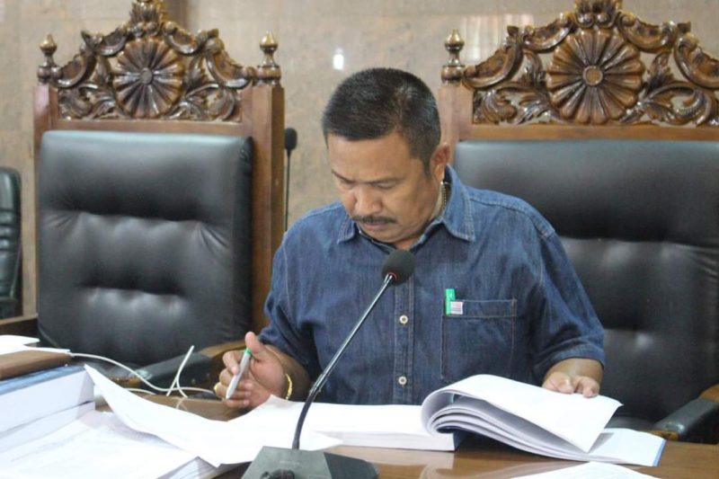 Wakil ketua DPRD Bulukumba, Patudangi Azis