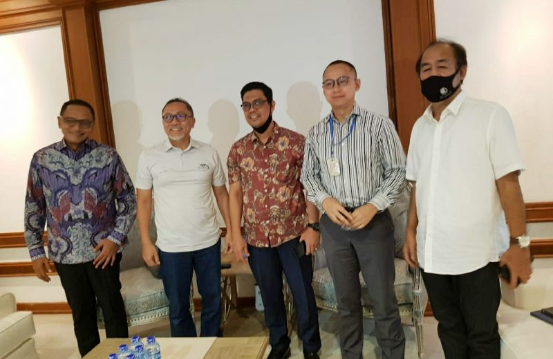 Maju di Pilkada, Edy Manaf Sowan ke Zulkifli Hasan. Senin, (3/8/2020).