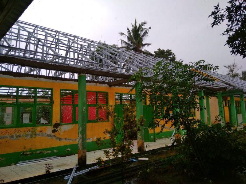 Proyek rehabilitasi SMP N 7 Bulukumba