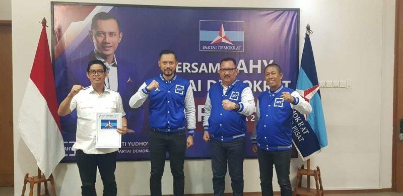 Bakal calon wakil Bupati Bulukumba Andi Edy Manaf menerima rekomedasi usungan Partai Demokrat