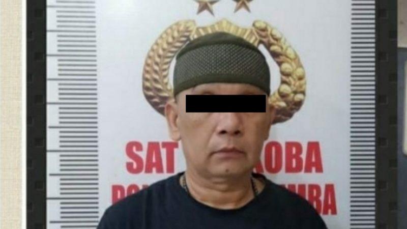 ABA (47) Oknum Polisi aktif, tertangkap kasus Narkoba