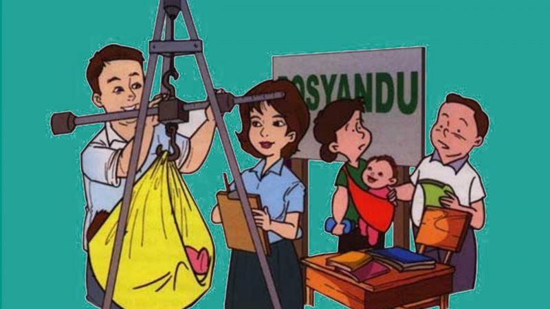 Ilustrasi Posyandu