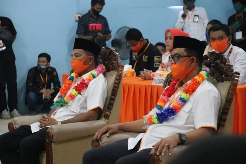 Andi Utta-Edy Manaf saat Pendaftaran Paslon di KPU Bulukumba beberapa waktu lalu.