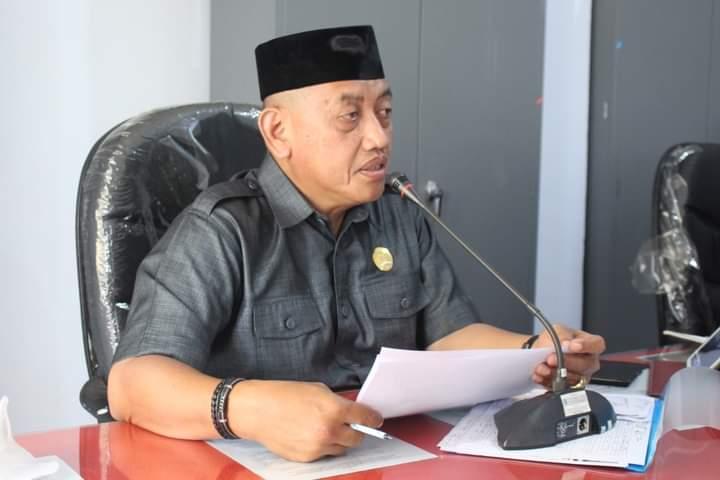 Ketua komisi A DPRD Bulukumba, H Safiuddin.