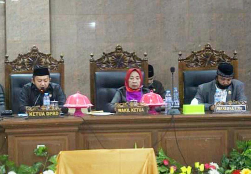 Para unsur Pimpinan DPRD Kabupaten Bulukumba