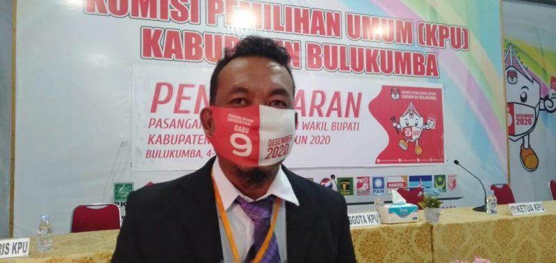 Komisioner KPU Bulukumba, Wawan Kurniawan
