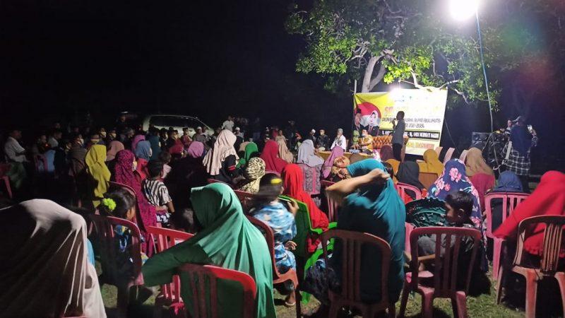 Kegiatan sosialisasi Hamzah Pangki di kecamatan Gantarang