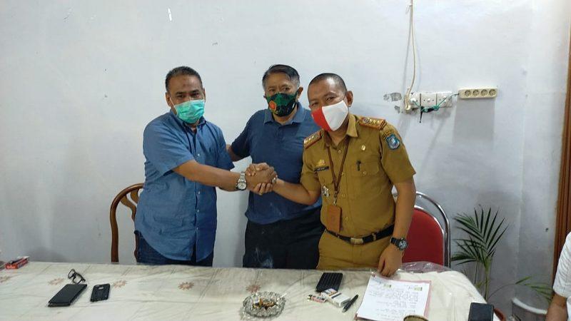 Dimediasi Bupati, Oknum ASN, Awal Nurhadi dan Legislator Gerindra, Muhammad Bakti sepakat berdamai pasca berseteru beberapa waktu lalu.
