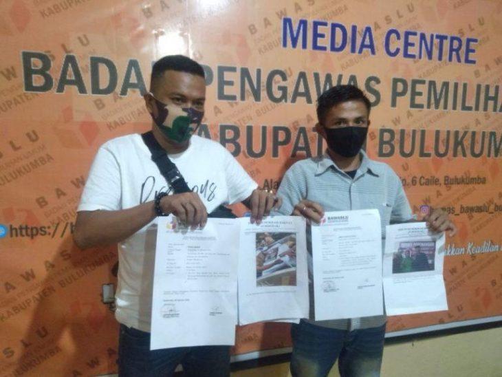 Forderak kembali laporkan kasat pol PP dan oknum kades yang diduga turut terlibat mengampanyekan TSY-Makassau di Pilkada, Selasa (6/10/2020).