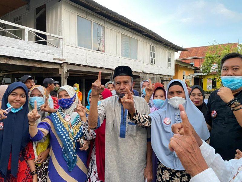 Sosialisasi kampanye HM21 di kelurahan Bintarore, Kecamatan Ujung Bulu, Jumat (16/10/2020)