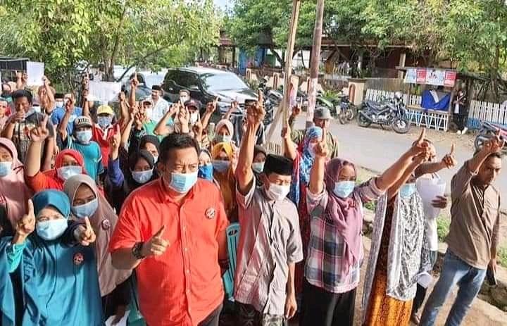 Sosialisasi HM21 di kecamatan Gantarang, Sabtu (17/10/2020)