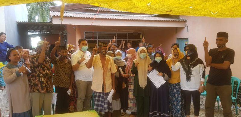 Kampanye dialogis HM21 di desa Padangloang, Kecamatan Ujung Loe, Senin (19/10/2020).