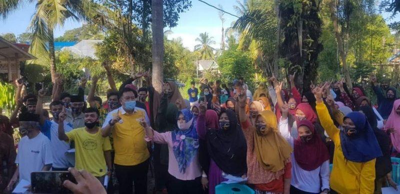 Sosialisasi HM21 di kecamatan Kajang, Rabu (28/10/2020).