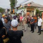 Jaringan Pemuda Bulukumba (Rimba) melakukan aksi didepan kantor Bawaslu Bulukumba, Jalan Kusuma Bangsa, Jumat (20/11/2020)