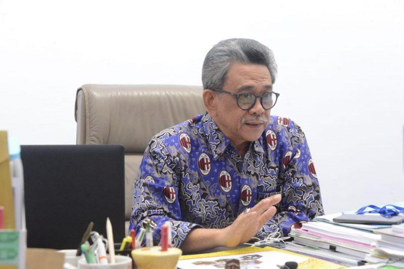 Pelaksana Tugas Kepala Dinas Perikanan Sinjai drh. Aminuddin Zainuddin