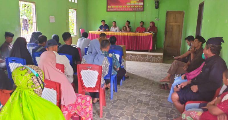 Pemerintah Desa Bonto Baji, Kecamatan Kajang menggelar Deklarasi Program Panrita Siaga Aktif Open Defecation Free (ODF) di Aula Kantor Desa Bonto Baji, Selasa (19/01/2021). (IST)