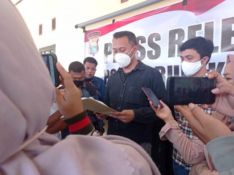 Kasat Reskrim Polres Bulukumba, AKP Bayu Wicaksono Febrianto