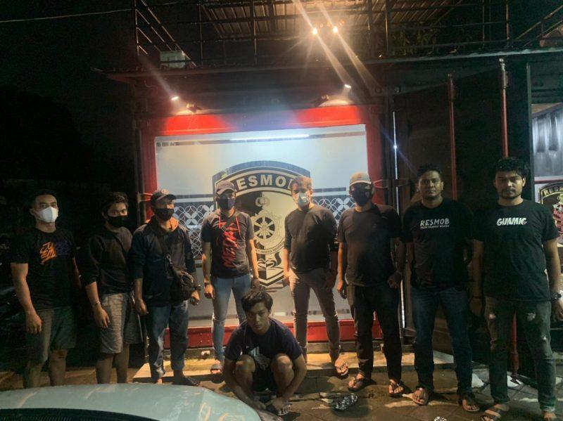 Muh Arif Hidayat (18) diamankan Satreskrim Bulukumba bersama Tim Resmob Polda Sulsel (IST)
