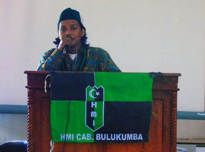 Kabid PTKP HMI Cabang Bulukumba, Baso Riswandi