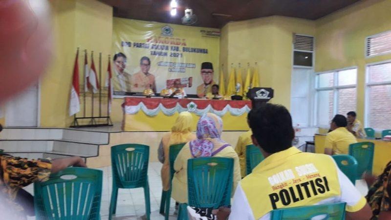 DPD II Golkar Bulukumba menggelar rapat di kantor Golkar Bulukumba.