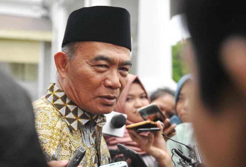 Menteri Koordinator (Menko) Bidang Pembangunan Manusia dan kebudayaan (PMK) Republik Indonesia, Muhadjir Effendy.