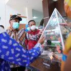 Menko Bidang Pembangunan Masyarakat dan Kebudayaan RI, Muhadjir Effendy didampingi Plt Gubernur Sulsel, Sudirman Sulaiman.