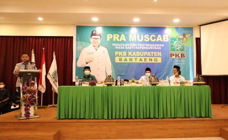 Ilham Azikin menghadiri Pra Muscab PKB Bantaeng