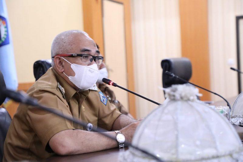Wabup Bantaeng, H Sahabuddin membuka Rakor PPID