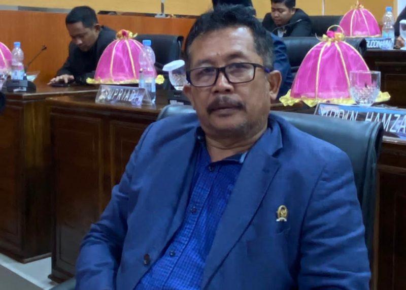 Ketua Fraksi PAN DPRD Bulukumba, Andi Zulkarnain Pangki