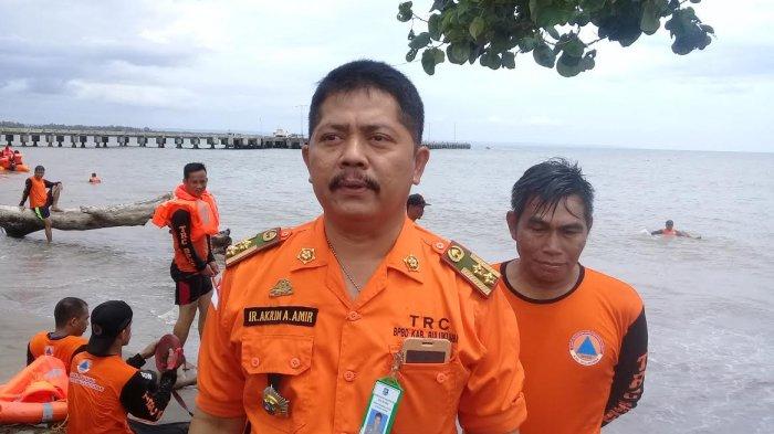 Kepala Badan Penanggulangan Bencana Daerah (BPBD) Bulukumba, Andi Akrim Amir