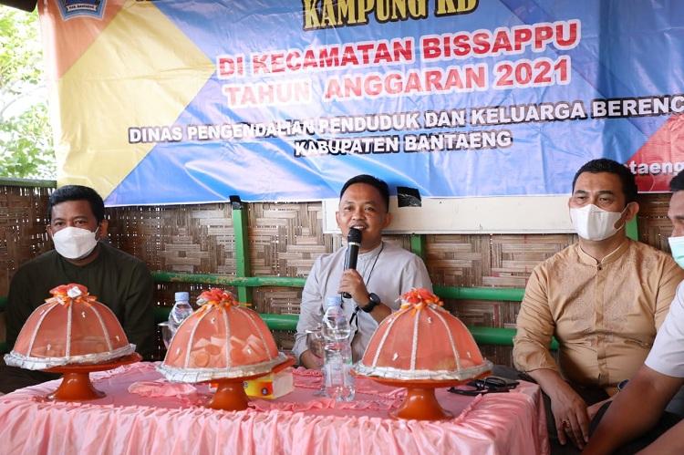 Kegiatan Mekanisme Operasional Lini Lapangan Kampung KB, tahun anggaran 2021 di Kecamatan Bissappu, Jum'at (30/7/2021). Foto: Dokumentasi Istimewa