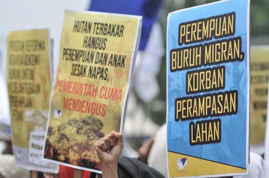 Ilustrasi unjuk rasa. Foto: Diunduh dari laman merdeka.com