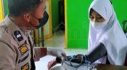 Sinergi MAN 1 Bulukumba dan Polsek Bulukumpa Gelar Vaksinasi Siswa Madrasah